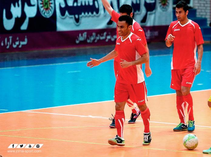 Ali Asghar, Jugador Más Valioso del Campeonato de Asia de Fútbol Sala