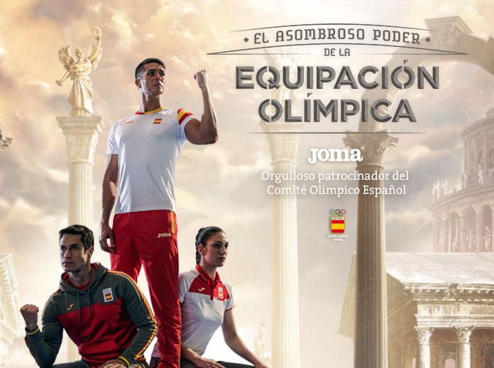 Joma presenta la collezione del Comitato Olimpico Spagnolo per Rio de Janeiro