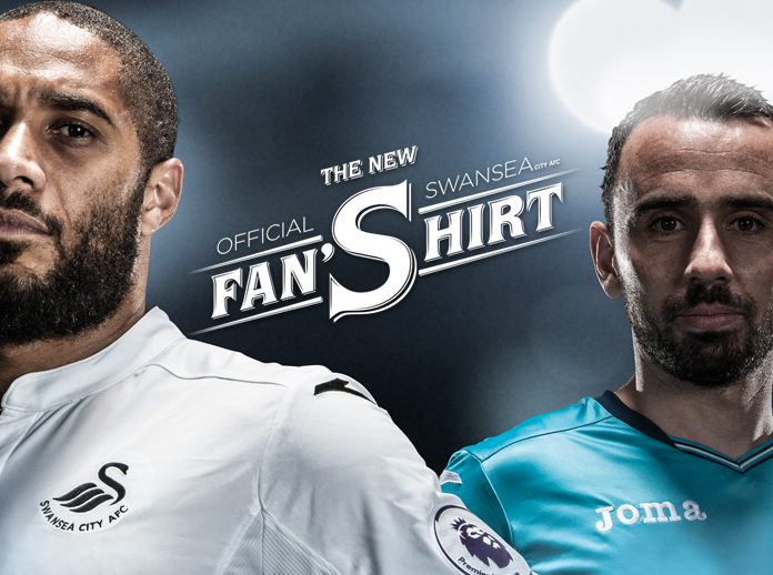 Joma presents the new official Swansea City AFC fan shirt