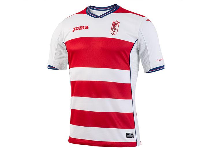 Revealed the new Granada CF 2016/17 shirt