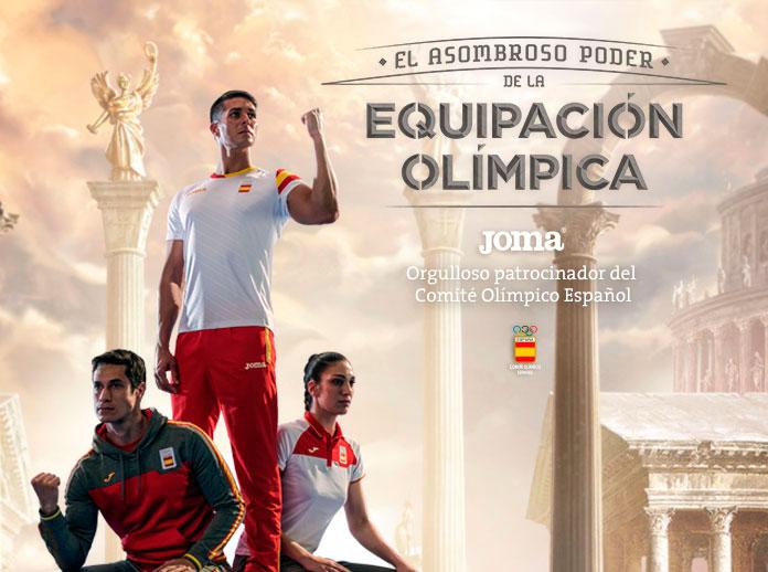 El 10 por ciento de los deportistas en las Olimpiadas de Río visten JOMA