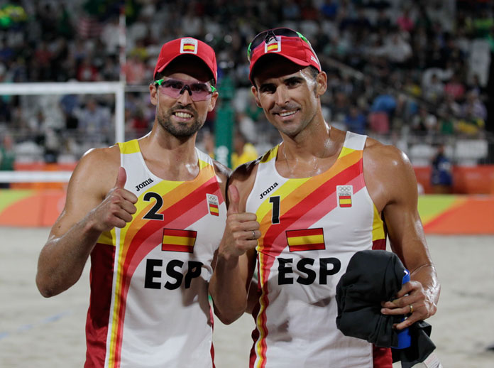 Spanish team excels at Olympic Games in Rio