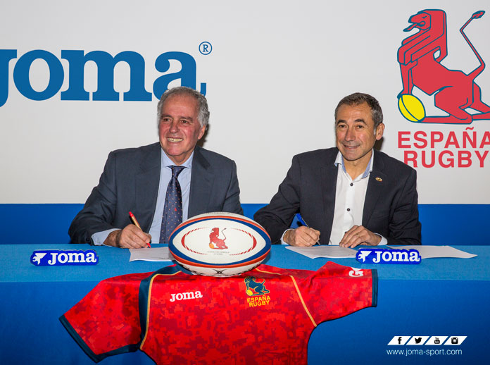 Joma sella su acuerdo con la Federación Española de Rugby