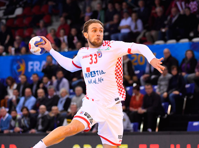 Croatia face European Champions in Men's World Handball Championships