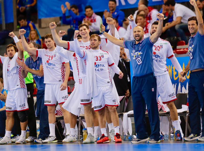 Croatia reach semi-final of the Men's World Handball Championship