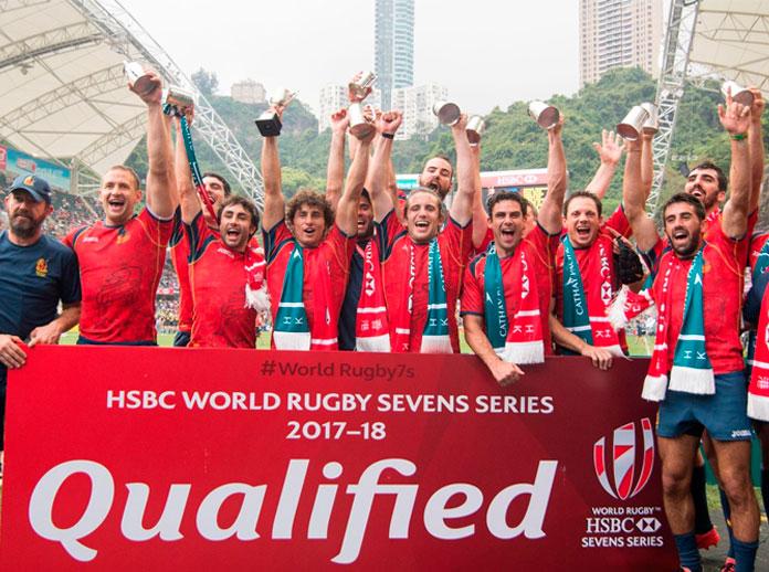 España jugará el próximo año como Core Team las HSBC Sevens World Series