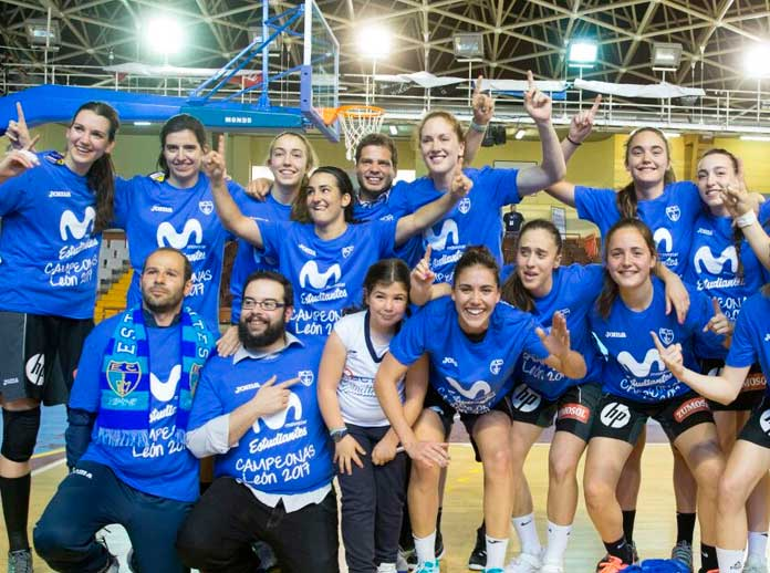 Movistar Estudiantes vuelve a la Liga Femenina