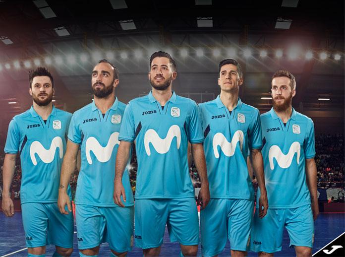 Movistar Inter volverá a vestir Joma en la temporada 2017/2018
