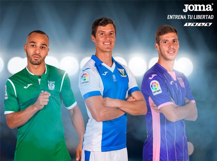 Presentamos la camiseta oficial del CD Leganés para la temporada 2017/18 en LaLiga