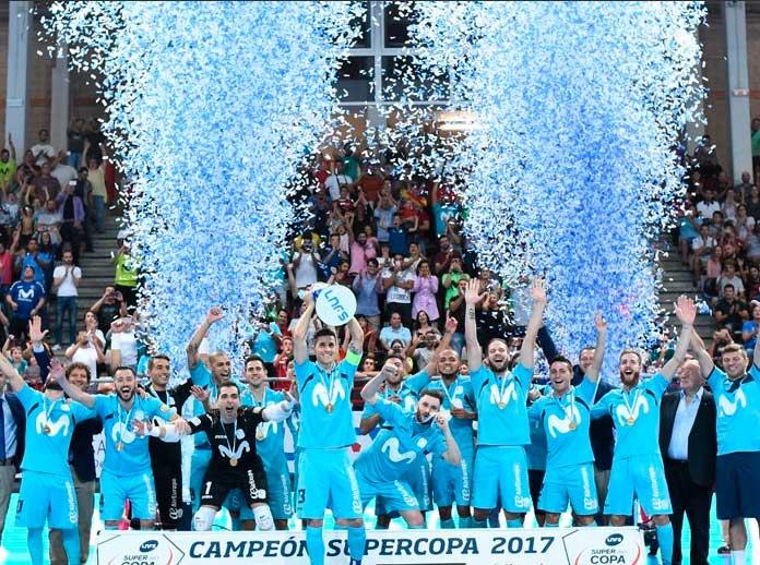 Movistar Inter, campeón de la Supercopa de España