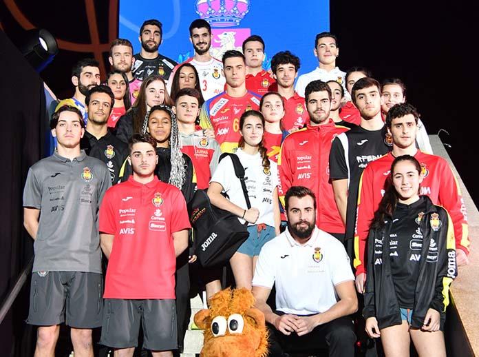 La Federación Española de Balonmano y Joma presentan las nuevas equipaciones