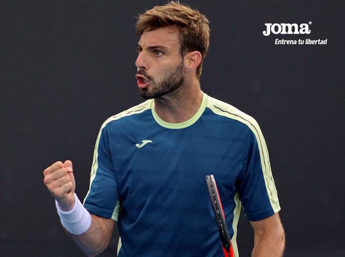 Marcel Granollers, primer campeón del tenis español en 2018