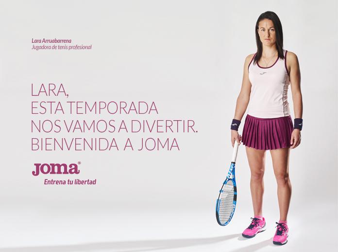 Lara Arruabarrena ficha por Joma