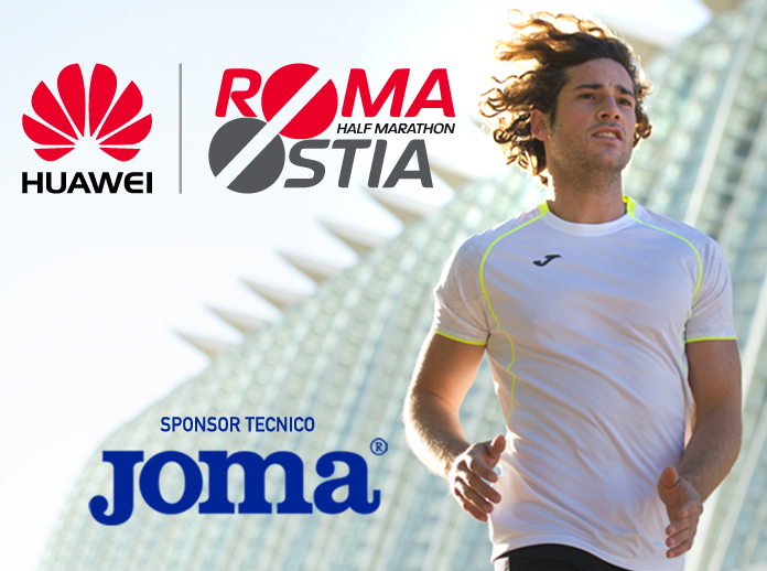 Joma sponsor tecnico della RomaOstia Half Marathon 2018