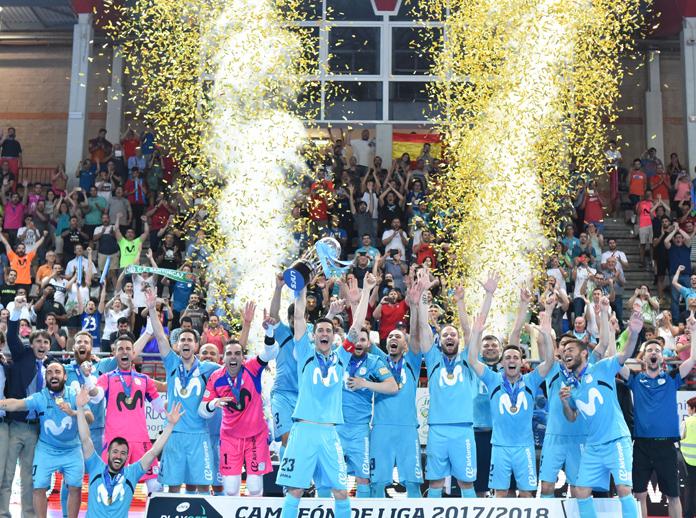 Inter Movistar campeón de Liga