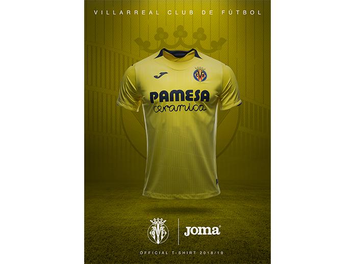 Así será la equipación oficial del Villarreal CF para la próxima temporada