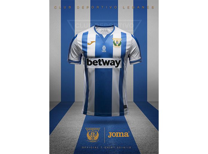 Joma presenta la camiseta del Leganés