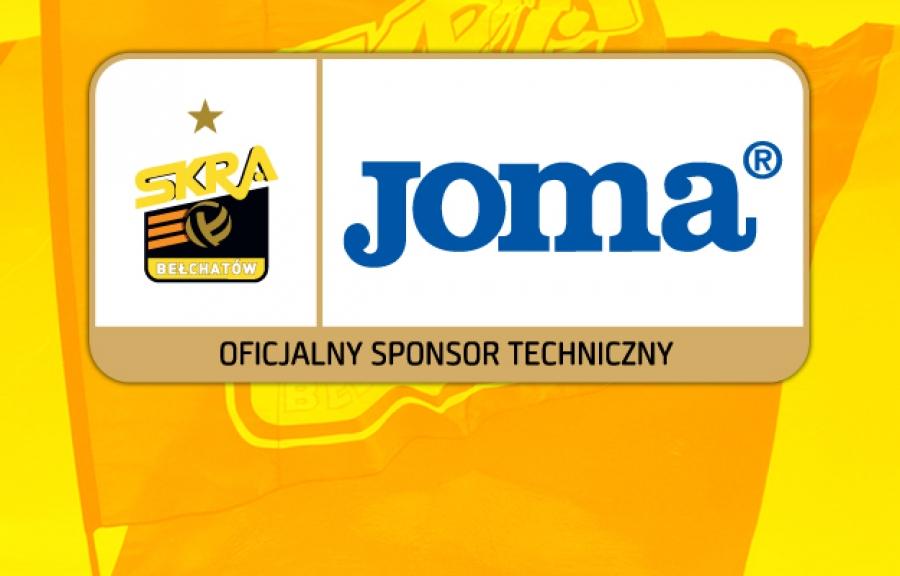 Joma sponsor technique de PGE Skra Belchatów.