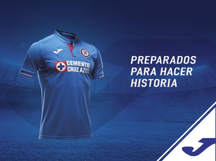 Joma nuevo patrocinador oficial  de Cruz Azul Fútbol Club.